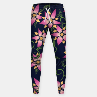 Thumbnail image of Vine Floral Sweatpants, Live Heroes