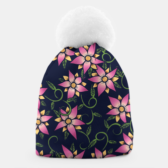 Thumbnail image of Vine Floral Beanie, Live Heroes