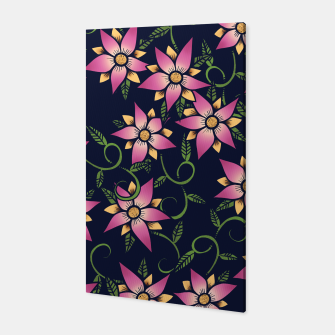 Thumbnail image of Vine Floral Canvas, Live Heroes