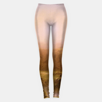 Miniaturka The Andes of Ecuador  by Frederic Edwin Church Leggings, Live Heroes