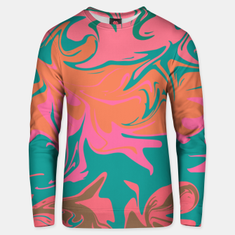 Thumbnail image of Purple storm, abstract hurricane in orange, blue and purple Unisex sweater, Live Heroes