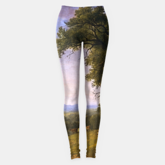 Miniaturka A Pastoral Scene By Asher Brown Durand Leggings, Live Heroes