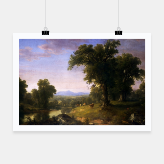Miniature de image de A Pastoral Scene By Asher Brown Durand Poster, Live Heroes
