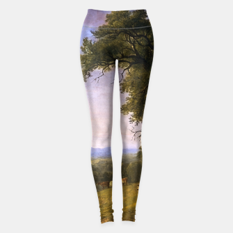 Thumbnail image of A Pastoral Scene By Asher Brown Durand Leggings, Live Heroes