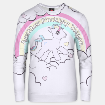 Thumbnail image of Another Fucking Vegan Unisex sweater, Live Heroes