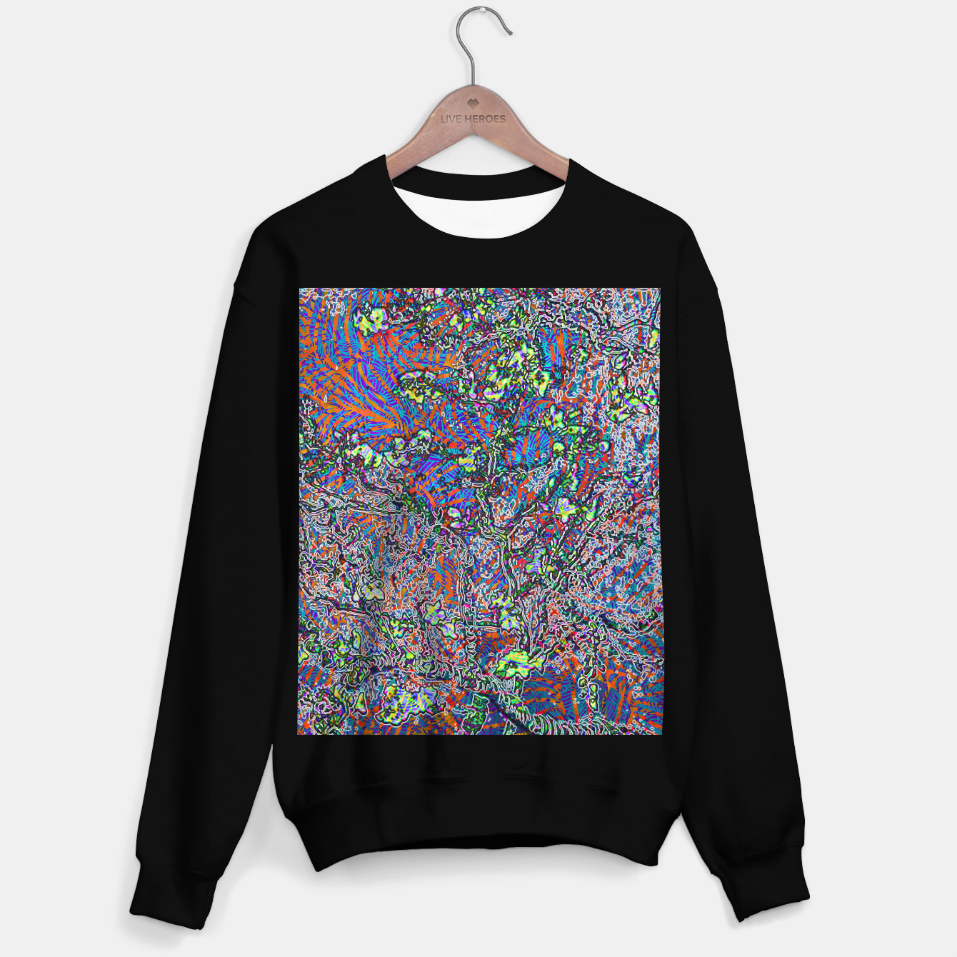 Image of ab Sweater regular - Live Heroes