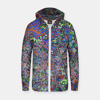 Thumbnail image of ab Zip up hoodie, Live Heroes