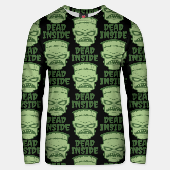 Thumbnail image of Dead Inside Frankenstein Monster Unisex sweater, Live Heroes