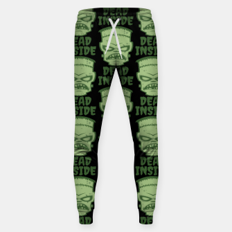 Thumbnail image of Dead Inside Frankenstein Monster Sweatpants, Live Heroes