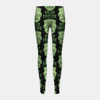 Thumbnail image of Dead Inside Frankenstein Monster Girl's leggings, Live Heroes
