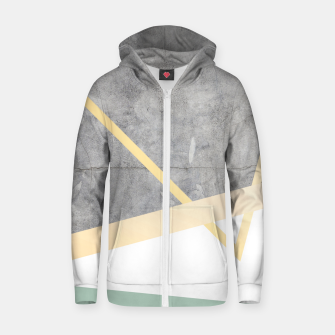 Thumbnail image of Golden LUXE Zip up hoodie, Live Heroes
