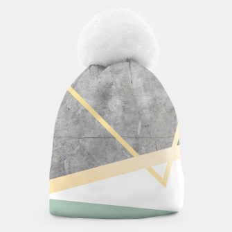 Thumbnail image of Golden LUXE Beanie, Live Heroes
