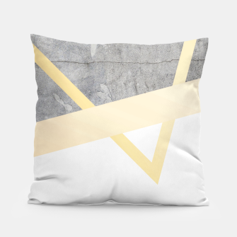 Thumbnail image of Golden LUXE Pillow, Live Heroes