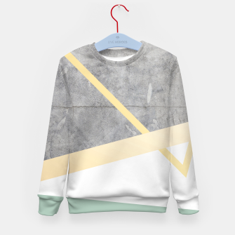 Thumbnail image of Golden LUXE Kid's sweater, Live Heroes
