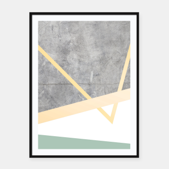 Thumbnail image of Golden LUXE Framed poster, Live Heroes