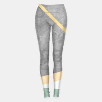 Thumbnail image of Golden LUXE Leggings, Live Heroes
