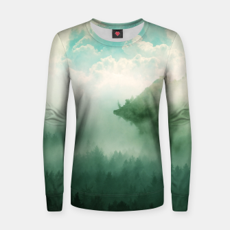 Thumbnail image of Mystical Woods Women sweater, Live Heroes