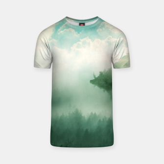Thumbnail image of Mystical Woods T-shirt, Live Heroes