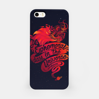 Thumbnail image of An Ephemeral Day In The Universe v2 by #Bizzartino iPhone Case, Live Heroes