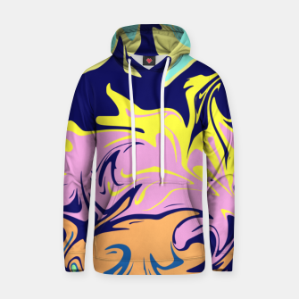 Thumbnail image of Liquid paint, mixing colors Hoodie, Live Heroes