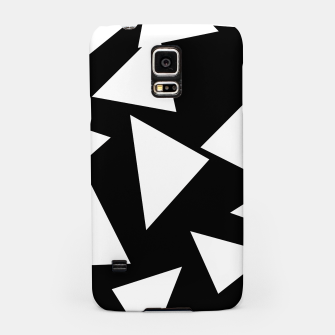 Thumbnail image of Flying Triangles Black and White Samsung Case, Live Heroes