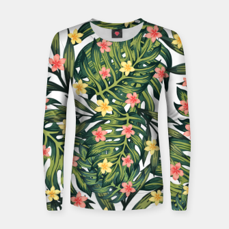 Thumbnail image of Tropical vibes Women sweater, Live Heroes