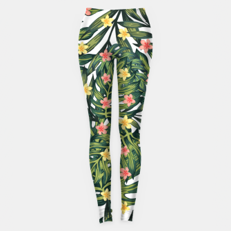 Thumbnail image of Tropical vibes Leggings, Live Heroes
