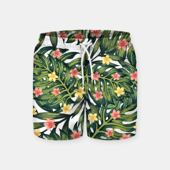 Thumbnail image of Tropical vibes Swim Shorts, Live Heroes