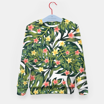 Thumbnail image of Tropical vibes Kid's sweater, Live Heroes