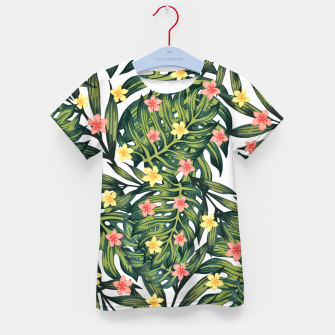 Thumbnail image of Tropical vibes Kid's t-shirt, Live Heroes
