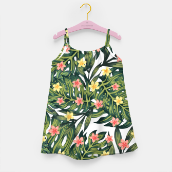 Thumbnail image of Tropical vibes Girl's dress, Live Heroes