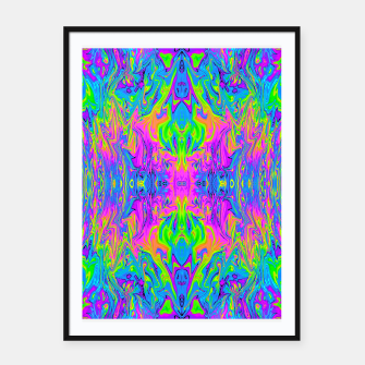 Thumbnail image of Psychedelic Spill 6 Framed poster, Live Heroes