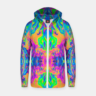 Thumbnail image of Psychedelic Spill 6 (Mirror Lab version) Zip up hoodie, Live Heroes