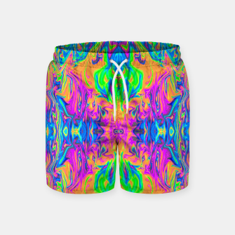 Thumbnail image of Psychedelic Spill 6 (Mirror Lab version) Swim Shorts, Live Heroes