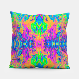 Thumbnail image of Psychedelic Spill 6 (Mirror Lab version) Pillow, Live Heroes