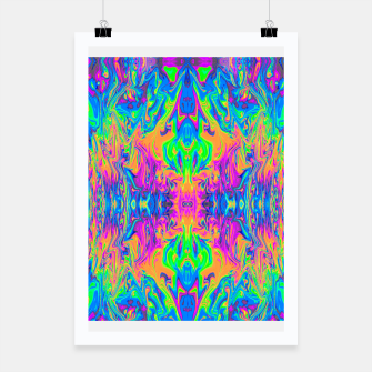 Thumbnail image of Psychedelic Spill 6 (Mirror Lab version) Poster, Live Heroes