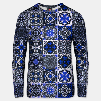 Thumbnail image of Geometric Moroccan Traditional Oriental Tiles Style  Unisex sweater, Live Heroes