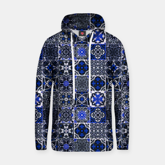 Thumbnail image of Geometric Moroccan Traditional Oriental Tiles Style  Hoodie, Live Heroes