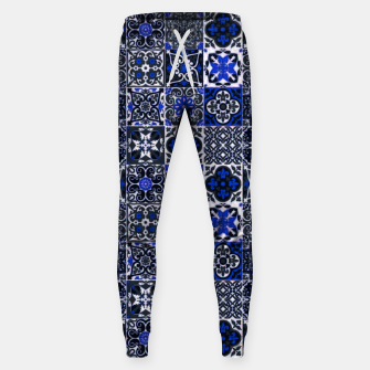 Thumbnail image of Geometric Moroccan Traditional Oriental Tiles Style  Sweatpants, Live Heroes