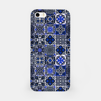 Thumbnail image of Geometric Moroccan Traditional Oriental Tiles Style  iPhone Case, Live Heroes