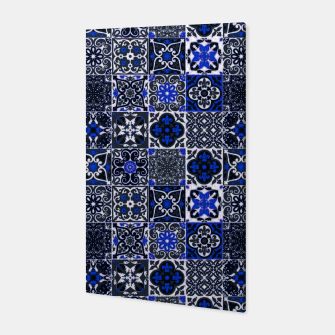 Thumbnail image of Geometric Moroccan Traditional Oriental Tiles Style  Canvas, Live Heroes