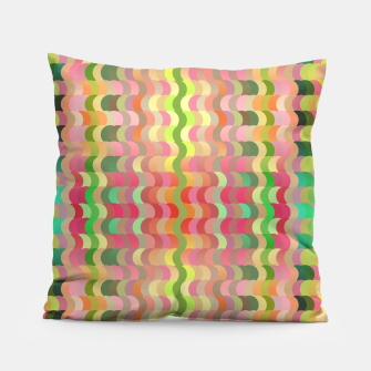 Miniaturka Abstract retro waves print in pastel colors Pillow, Live Heroes