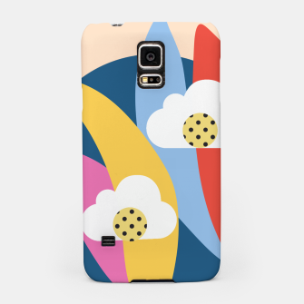 Thumbnail image of Sahara Street Love Clouds Samsung Case, Live Heroes