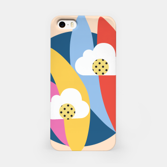 Thumbnail image of Sahara Street Love Clouds iPhone Case, Live Heroes