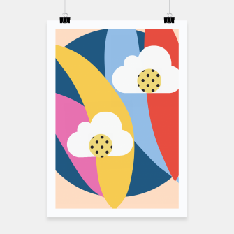 Thumbnail image of Sahara Street Love Clouds Poster, Live Heroes