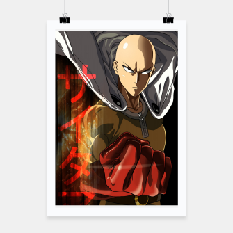 Miniaturka One Punch Man - Saitama Poster, Live Heroes