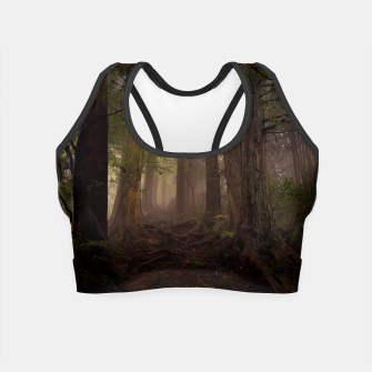 Thumbnail image of forest Crop Top, Live Heroes