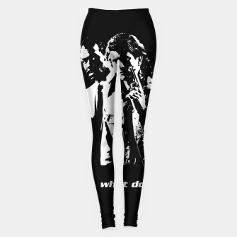 Miniatur Lethal Weapon Quote Leggings, Live Heroes