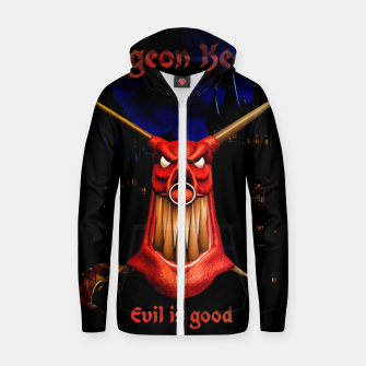 Miniatur Dungeon Keeper Zip up hoodie, Live Heroes
