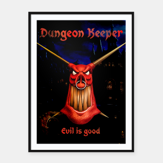 Thumbnail image of Dungeon Keeper Framed poster, Live Heroes